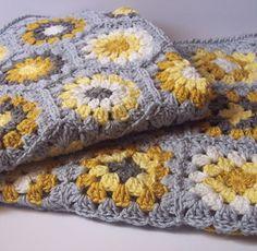 Transcendent Crochet a Solid Granny Square Ideas. Inconceivable Crochet a Solid Granny Square Ideas. Grannies Crochet, Crochet Squares, Love Crochet, Crochet Blanket Patterns, Baby Blanket Crochet, Crochet Stitches, Knit Crochet, Granny Squares, Crochet Blankets