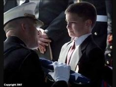 Young Boy at his Father's Funeral. The soldier's son accepts an American flag at his father's funeral. Funeral, Fotografia Social, My Champion, Staff Sergeant, Support Our Troops, We Are The World, Religion, Faith In Humanity, Before Us
