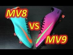 Nike Mercurial Vapor 9 IX VS Nike Mercurial Vapor 8 VIII - Comparison