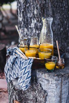 Tropical Fruit Ginger Juice | Playful Cooking