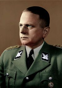 Commander Otto Ohlendorf, executed in 1951 for having headed an Einsatzgruppe Task force responsible for killing 90,000 people --mostly Jews -- shot by his command. His defense was that he was following orders by the leaders of the state. Though he testified that he personally had scruples against the liquidation orders, yet he also said he felt duty-bound to obey the liquidation orders. He also testified that any soldier refusing to obey the orders faced court martial.