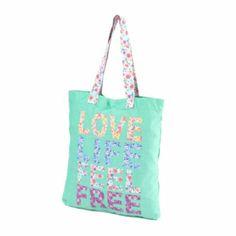 Love Life Feel Free Tote Bag