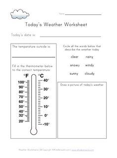 grade 2 science weather forecast worksheet free sheet lesson plan activities pinterest. Black Bedroom Furniture Sets. Home Design Ideas