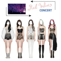 Kpop Fashion Outfits, Stage Outfits, Dance Outfits, Star Clothing, Concert Fashion, Character Inspired Outfits, Polyvore Outfits, Outfit Sets, Korean Fashion