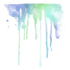 watercolor drips ❤ liked on Polyvore featuring backgrounds, watercolor, splashes, effects and fillers