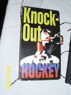 Knock out Hockey VHS # 4002-3 Wild  & ROugh Fight Ice Hockey Punches Ferocious