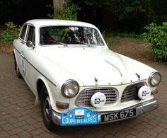 '62 Amazon that Pam & Bill Fisher from GB ran in the 2013 Coupe des Alpes Rally