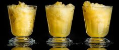 For your next party, use this recipe to make a batch of Editor in Chief Kat Kinsman's highly potent bourbon slush. (I admit I increase the amount of bourbon to taste! Whiskey Drinks, Cocktail Drinks, Fun Drinks, Yummy Drinks, Alcoholic Drinks, Beverages, Bourbon Mixed Drinks, Bourbon Cocktails, Holiday Drinks