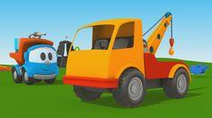Cartoni Animati per Bambini - Leo Junior: coloriamo insieme il carro attrezzi
