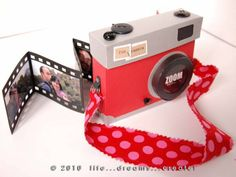 Camera Album with film Strip from Life Dreams Create