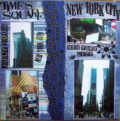 New York, New York - Scrapbook.com