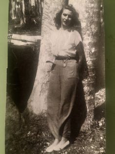 My mother vintage 1940s style