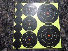 """Birchwood Casey Shoot-N-C Assorted (6ea)1"""" (3ea)2"""" and (2ea)3"""" Bullseye Targets"""