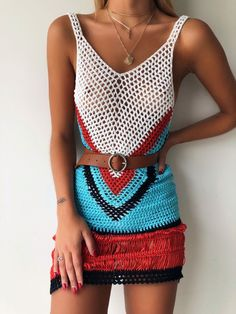 Festival – Page 8 – Generation Outcast Clothing - Hand made Crochet - Not Sheer At bottom Prom Dress Shopping, Online Dress Shopping, Festival Jumpsuits, Boho Outfits, Fashion Outfits, Bikinis Crochet, Festival Outfits, Festival Clothing, Crochet Clothes