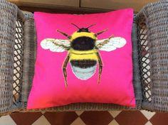 Bee cushion £20.00