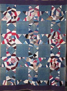 Antique Quilt Handmade STAR OF BETHLEHEM or HARVEST STAR Mid 1800s Cotton Fabric, eBay, i_spy_design