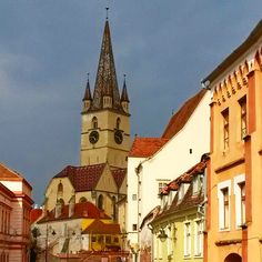 Sibiu, Romania San Francisco Ferry, Notre Dame, Sibiu Romania, World, Building, Travelling, Lifestyle, Buildings, The World