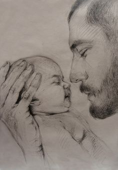Sketch Drawing Of Dad - My Recent Drawings On Behance Pencil Art Drawings Dad Drawing Love Never Dies Unendinglove Father Daughter Dad Drawing Royalty Free Dad Son Sketch Sto. Dad Drawing, Girl Drawing Sketches, Art Drawings Sketches Simple, Realistic Pencil Drawings, Dark Art Drawings, Pencil Art Drawings, Desenhos Love, Baby Sketch, Pencil Portrait