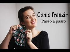 Como franzir tecido - dica de costura - YouTube Sewing Hacks, Sewing Crafts, Sewing Projects, Love Sewing, Baby Sewing, Sewing Clothes, Diy Clothes, Rest, Edge Stitch