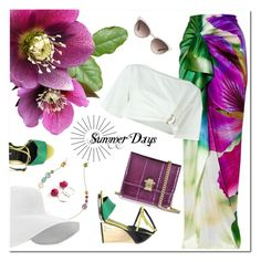 """""""vacation in the south"""" by drn57 ❤ liked on Polyvore featuring Ippolita, Roberto Cavalli and Gucci"""