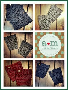 AlishaMayCreates: One More Post About Boot Cuffs & Giveaways