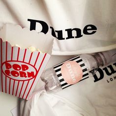 Amazing Day at Dune London HQ - Movie and Popcorn! #movie #popcorn #treats #cute #dunelondon