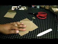 Envelope Tutorial for my 3x3 cards