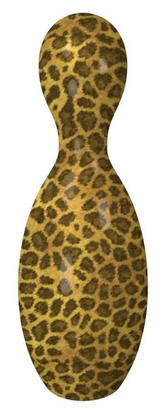 Leopard Texture Bowling Pin