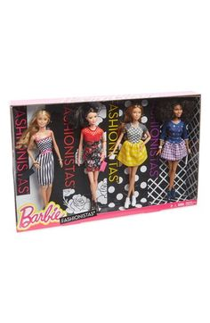 Mattel 'Barbie® Fashionistas®' Dolls (Set of 4) available at #Nordstrom
