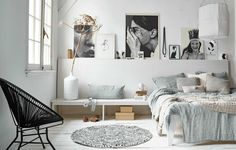 Scandinavian Bedroom Design Scandinavian style is one of the most popular styles of interior design. Although it will work in any room, especially well . Interior, Home Bedroom, Bedroom Interior, Home Decor, Room Inspiration, House Interior, Room Decor, Interior Design, New Room