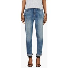 J Brand Blue Aiden Cherish Fade Boyfriend Jeans