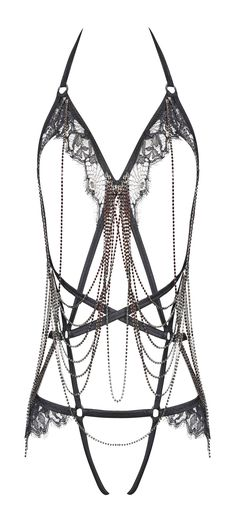chained accessory body jewelry