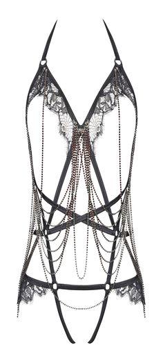 Interesting lingerie piece, truly unique! #lingerie