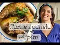 CARNE DE PANELA COM AIPIM (mandioca): como preparar e armazenar + proteína e carboidrato juntos - YouTube