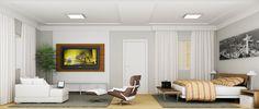 Conforto, sofisticação e tranquilidade em um único ambiente