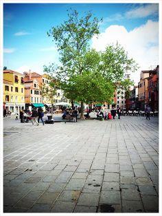 Venezia / Venice, Campo Santa Margherita.