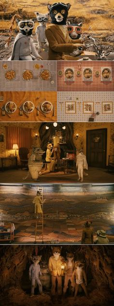 Fantastic Mr. Fox by Wes Anderson