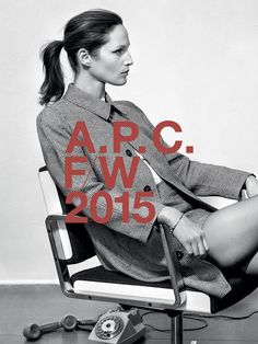 A.P.C. Advertising Campaign Fall/Winter 2015/2016