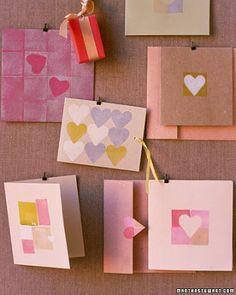 Tarjetas de san valentin hechas a mano : cositasconmesh