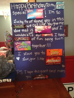 1000 images about gifts for birthday on pinterest best for What should i do for my boyfriends birthday