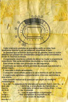 Concerto: U2 - Zooropa'93, Estádio José Alvalade, Lisboa. 15 de Maio de 1993. Pin #2/6.