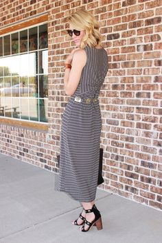 Belle de Couture: Twist Back Maxi #CabiClothing
