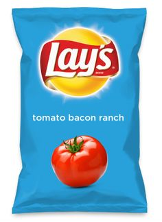 Wouldn't tomato bacon ranch be yummy as a chip? Lay's Do Us A Flavor is back, and the search is on for the yummiest chip idea. Create one using your favorite flavors from around the country and you could win $1 million! https://www.dousaflavor.com See Rules.