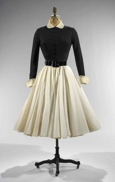 Norman Norell dress ca. 1951 via The Costume Institute of the Metropolitan Museum of Art