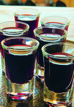 "Sloe gin recipe from John Wright: ""My basic sloe gin recipe is extremely simple; no added flavourings such as juniper berries or almonds, just straight in the jar with all three basic ingredients."""