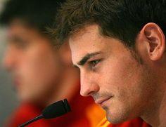 Iker Casillas.  Spain. he's my favorite football player and i love hiiiiim <3