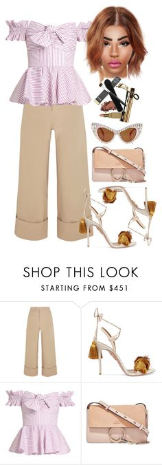 """""""millennial boss"""" by fashion-is-my-passion-14 on Polyvore featuring Sea, New York, Aquazzura, Caroline Constas, Chloé and A-Morir by Kerin Rose"""