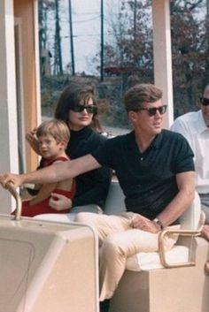 Rare Photos of the Kennedy's Virginia Estate