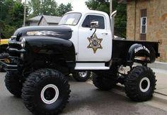 Interesting law enforcement vehicle