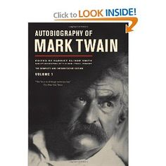 Autobiography of Mark Twain #autobiography #library